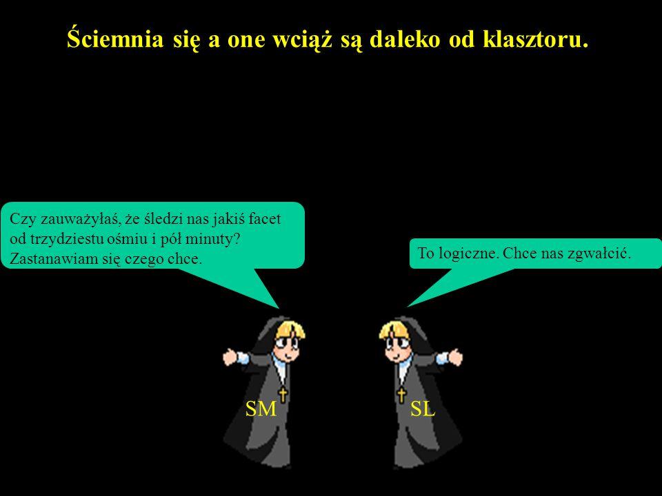 Były sobie dwie zakonnice... Jedna z nich nazywana była Siostra Matematyka (SM) druga znana była jako Siostra Logika (SL) SMSL