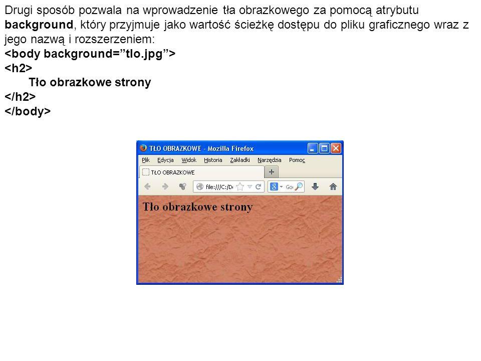 Przeglądarka Internet Explorer wprowadziła dodatkowe rozszerzenie umożliwiające animację tekst.