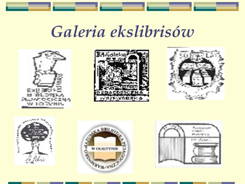 Galeria ekslibrisów-c.d.