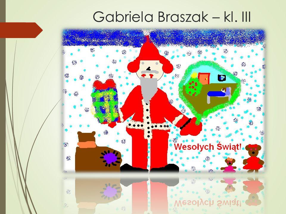 Gabriela Braszak – kl. III