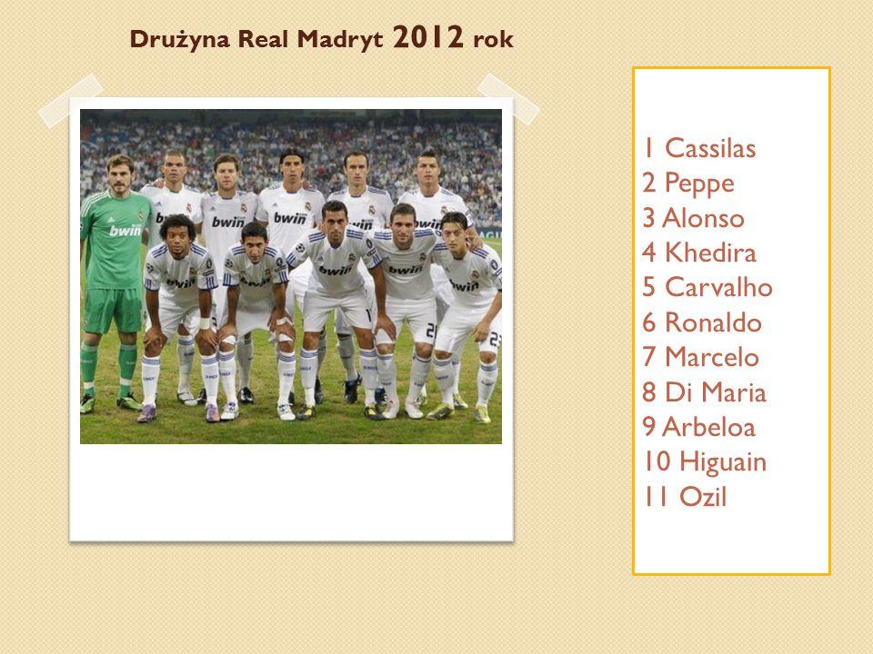 Real Madrid Club de Fútbol – hiszpański klub sportowy istniejący od 1902 roku.
