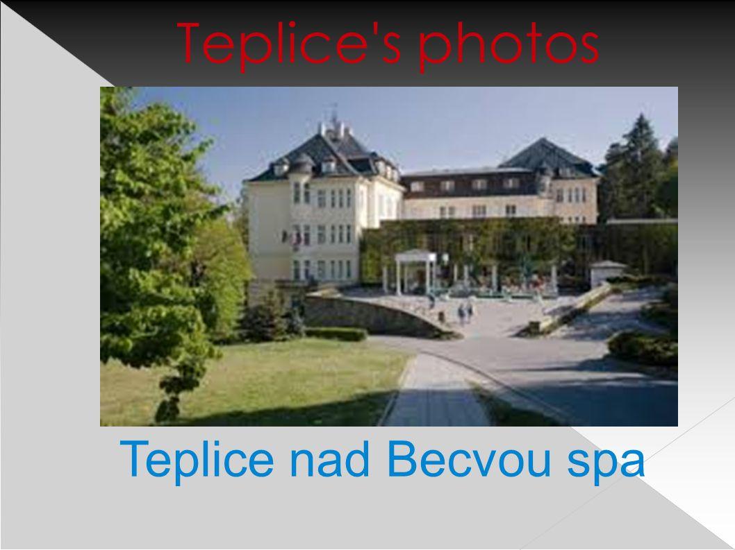 Teplice nad Becvou spa Teplice s photos