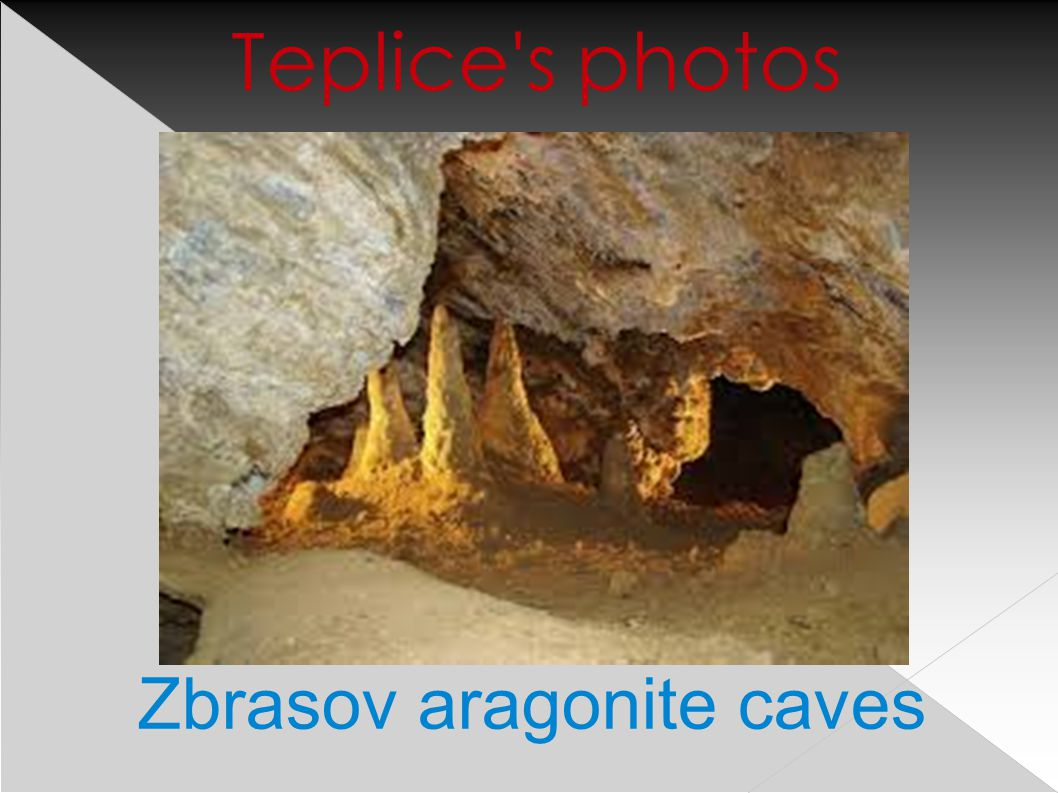 Zbrasov aragonite caves Teplice s photos