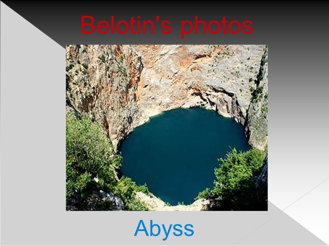 Belotin s photos Divide