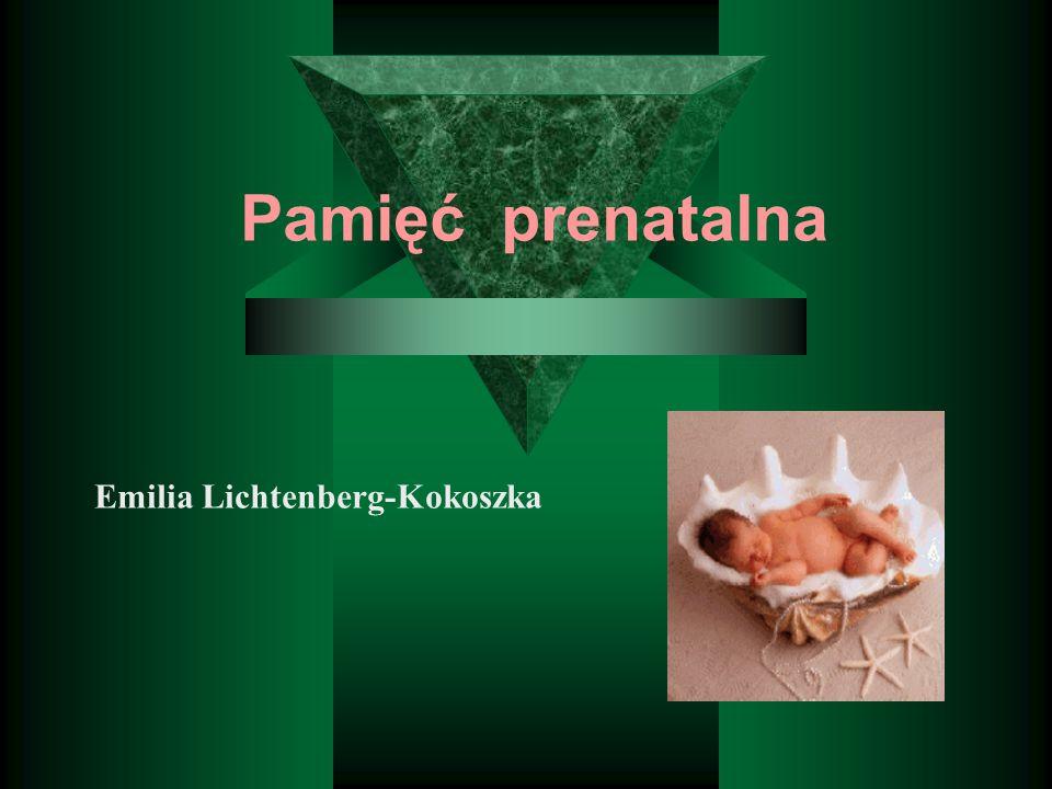 Pamięć prenatalna Emilia Lichtenberg-Kokoszka
