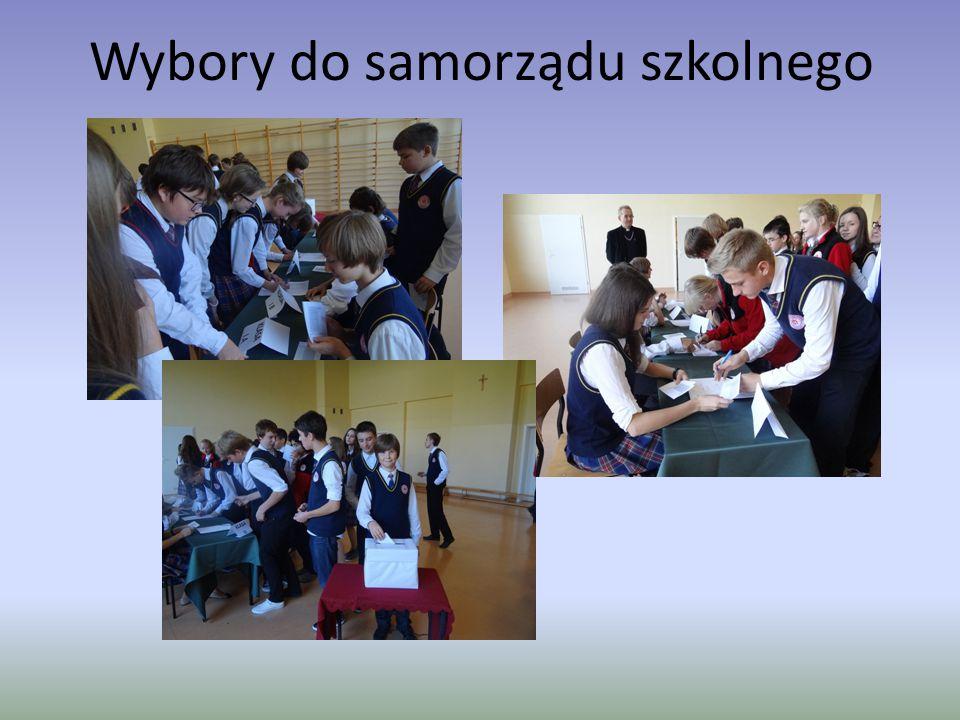 Wybory do samorządu szkolnego