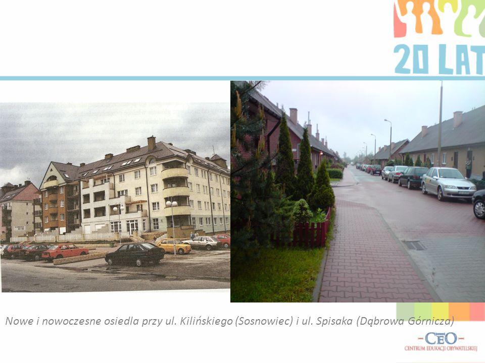 Nowe i nowoczesne osiedla przy ul. Kilińskiego (Sosnowiec) i ul. Spisaka (Dąbrowa Górnicza)