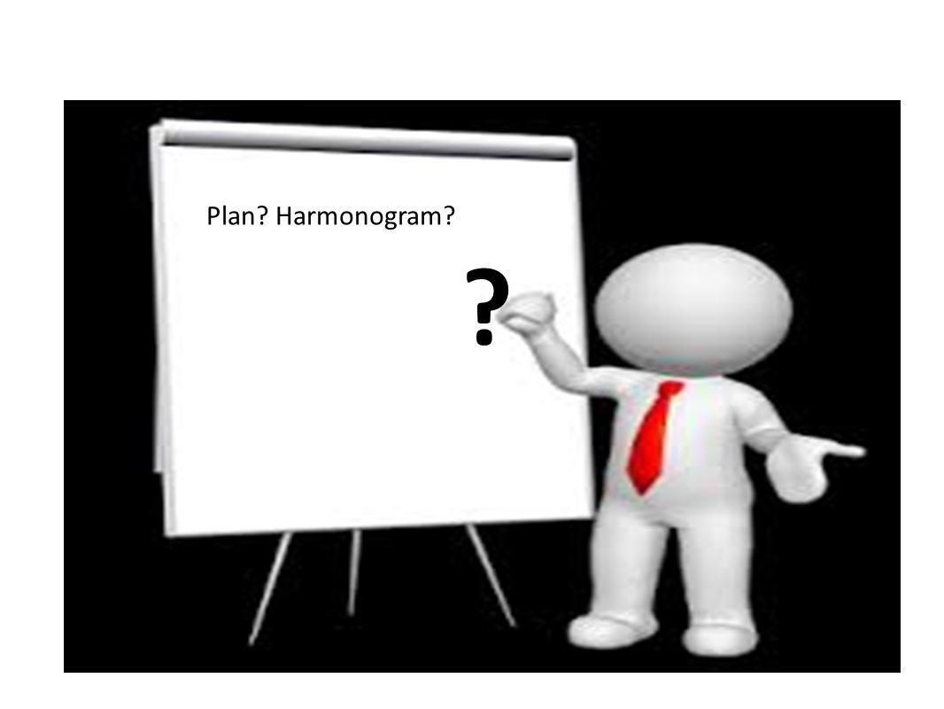 Plan? Harmonogram? ?
