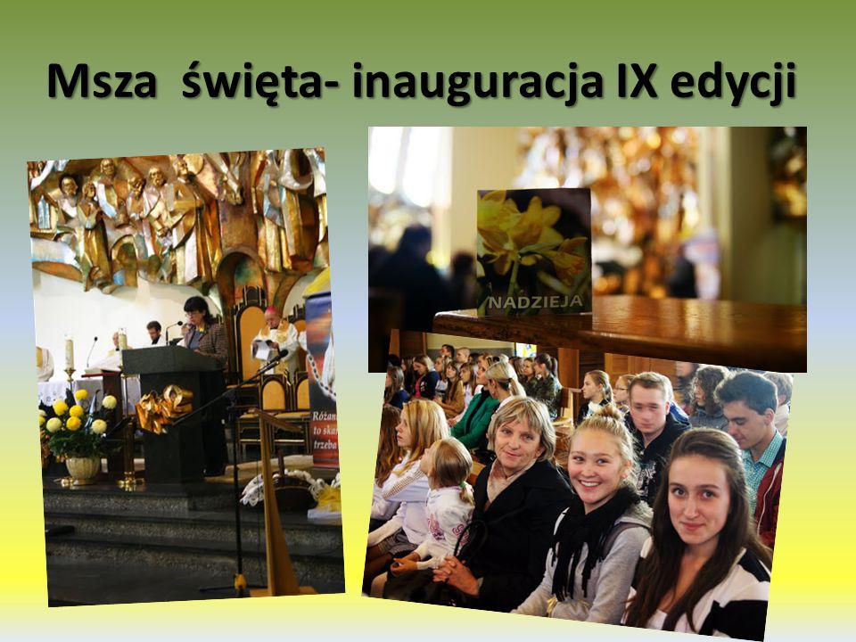 Msza święta- inauguracja IX edycji