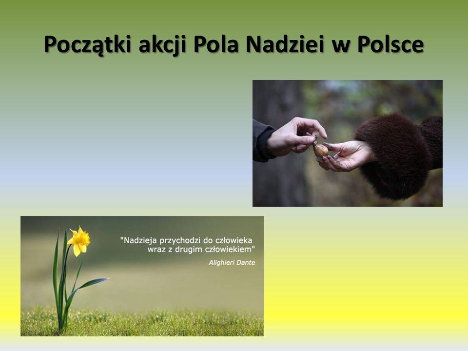 Początki akcji Pola Nadziei w Polsce