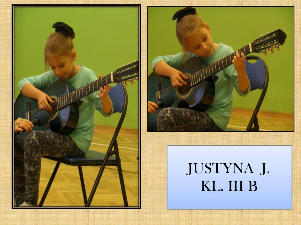 JUSTYNA J. KL. III B