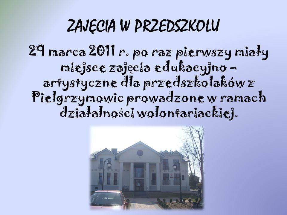 ZAJĘCIA W PRZEDSZKOLU 29 marca 2011 r.