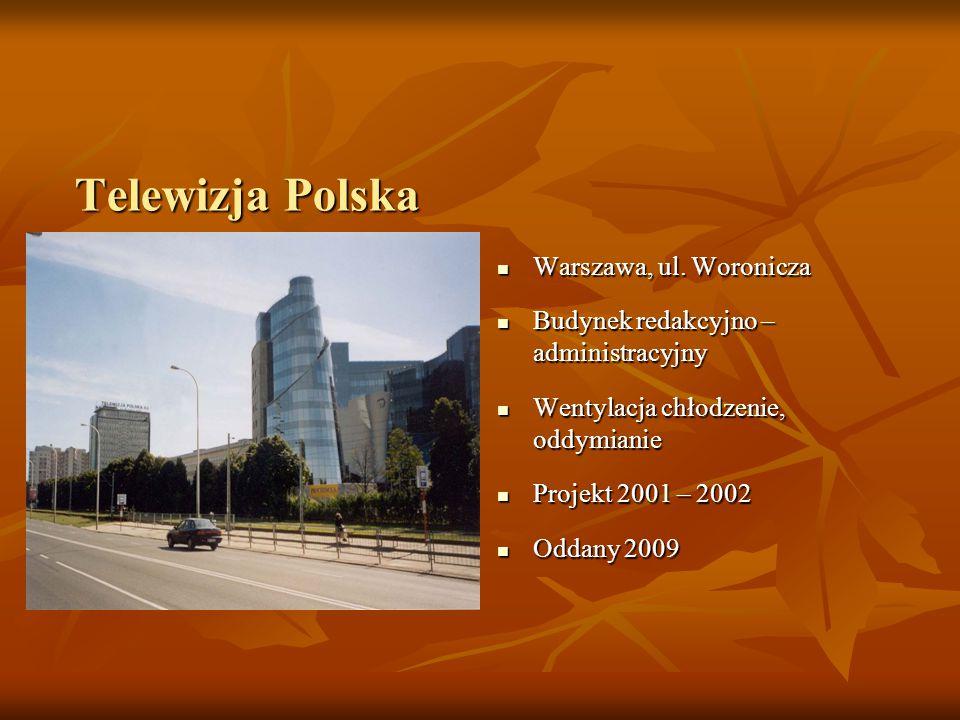 Telewizja Polska Warszawa, ul. Woronicza Warszawa, ul.