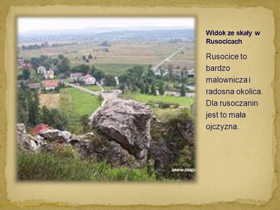 Rusocice to bardzo malownicza i radosna okolica. Dla rusoczanin jest to mała ojczyzna. www.mapofpoland.pl