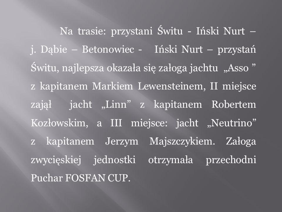 Na trasie: przystani Świtu - Iński Nurt – j.