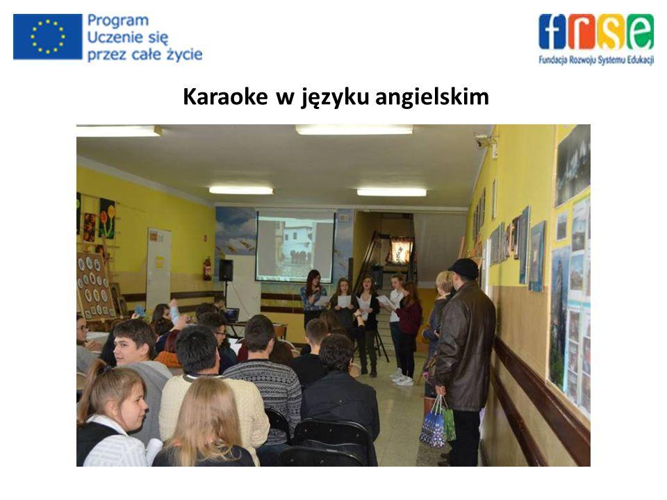 Karaoke w języku angielskim