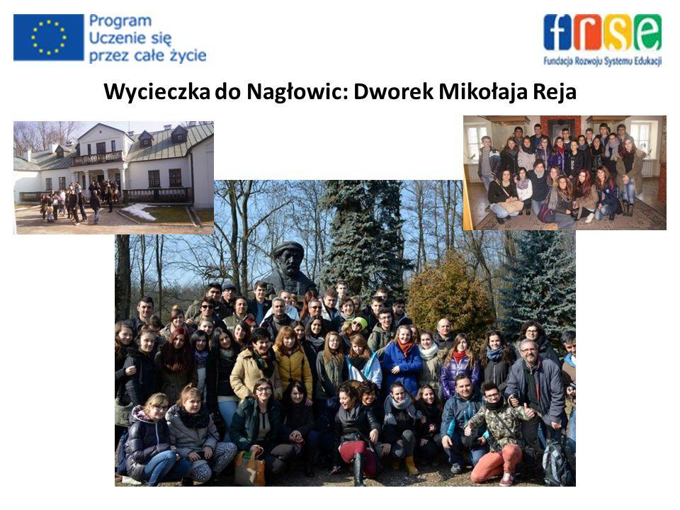 Wycieczka do Nagłowic: Dworek Mikołaja Reja