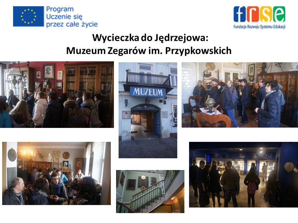 Wycieczka do Jędrzejowa: Muzeum Zegarów im. Przypkowskich