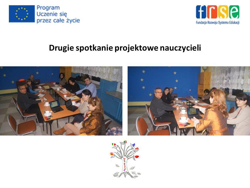 Drugie spotkanie projektowe nauczycieli