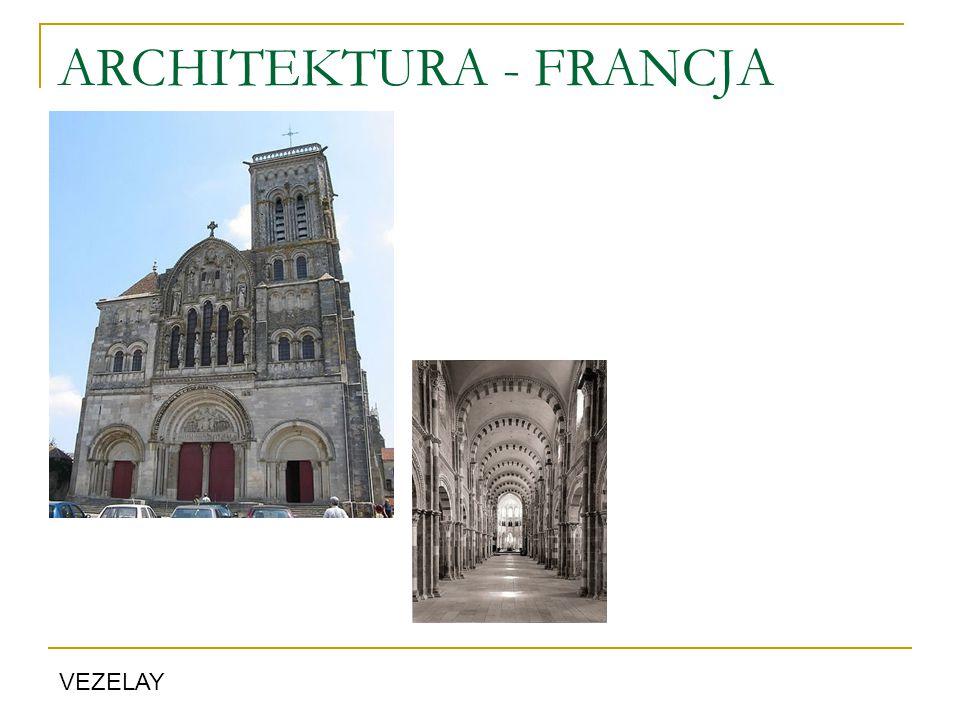 ARCHITEKTURA - FRANCJA VEZELAY