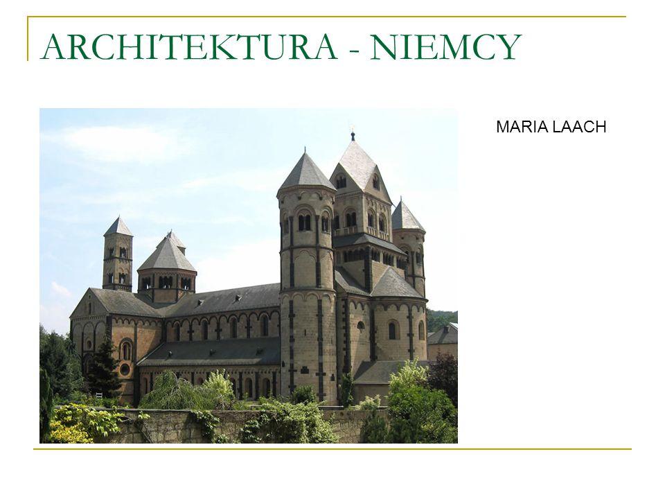 ARCHITEKTURA - NIEMCY MARIA LAACH