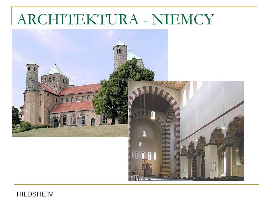 ARCHITEKTURA - NIEMCY HILDSHEIM