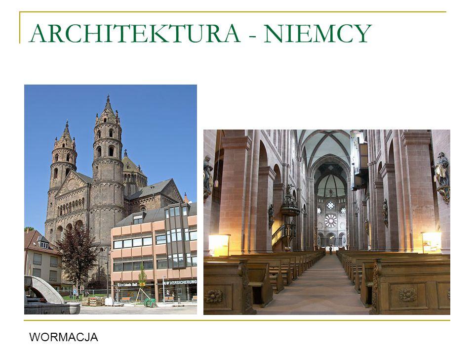 ARCHITEKTURA - NIEMCY WORMACJA