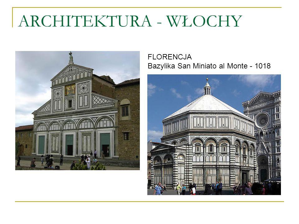 ARCHITEKTURA - WŁOCHY FLORENCJA Bazylika San Miniato al Monte - 1018