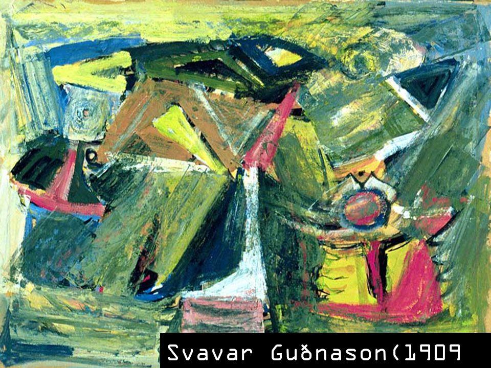 Svavar Guðnason(1909 – 1988)
