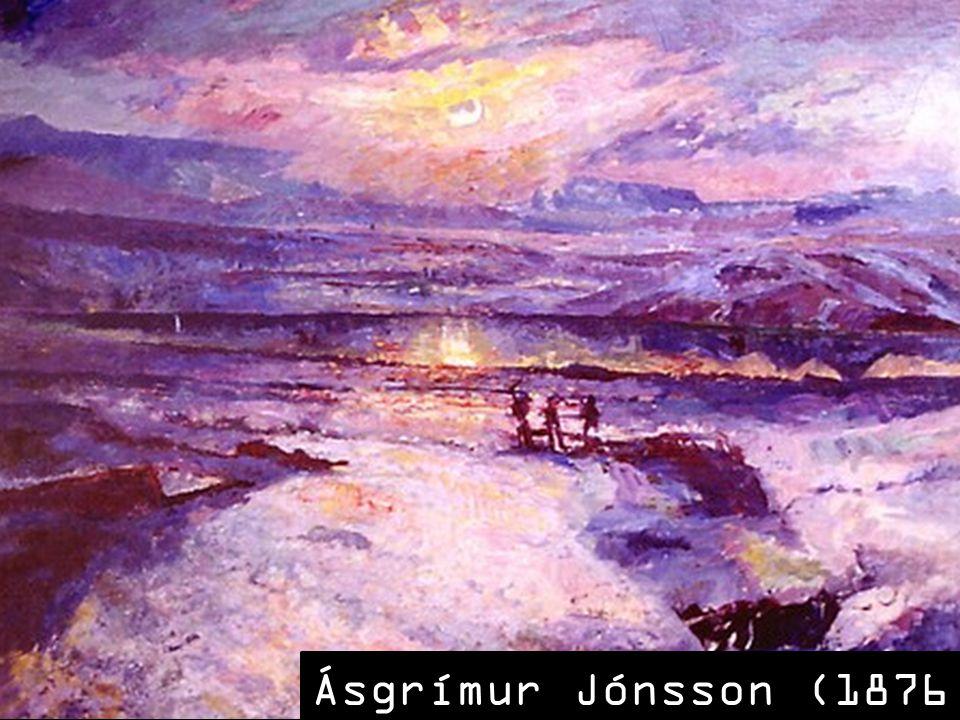 Ásgrímur Jónsson (1876 – 1958)