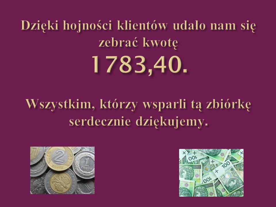 Ty też możesz pomóc Angelice wysyłając pieniądze na adres: Fundacja Zielony Liść Nr konta: 43 - 1600 - 1068 - 0003 - 0101 - 1776 - 9150.
