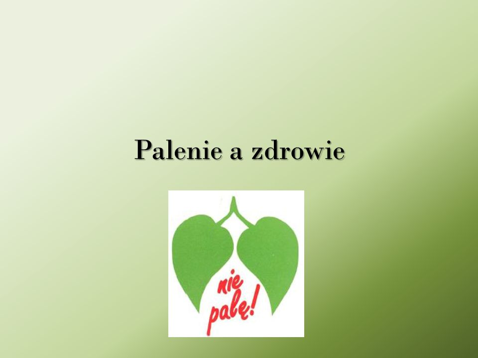 Palenie tytoniu jest olbrzymim problemem społecznym w Polsce.
