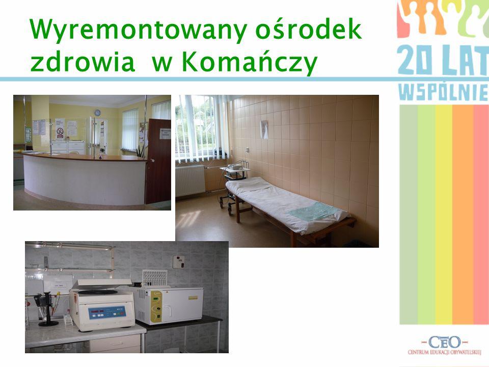 Wyremontowany ośrodek zdrowia w Komańczy