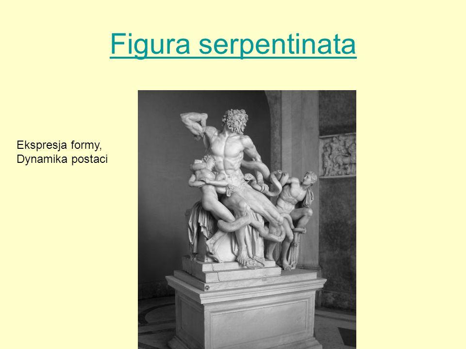 Figura serpentinata Ekspresja formy, Dynamika postaci