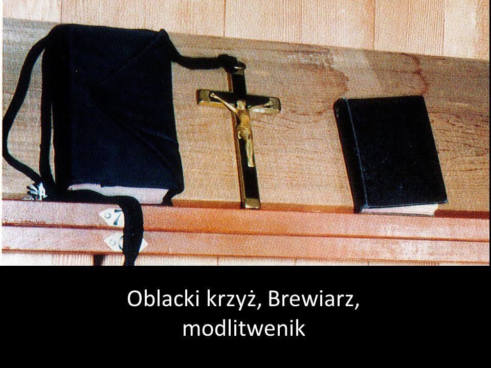 Oblacki krzyż, Brewiarz, modlitwenik