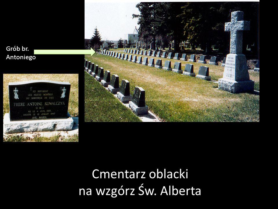 Cmentarz oblacki na wzgórz Św. Alberta Grób br. Antoniego