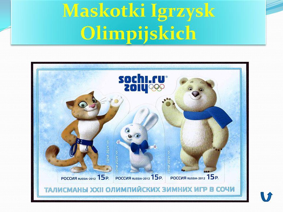 Maskotki Igrzysk Olimpijskich