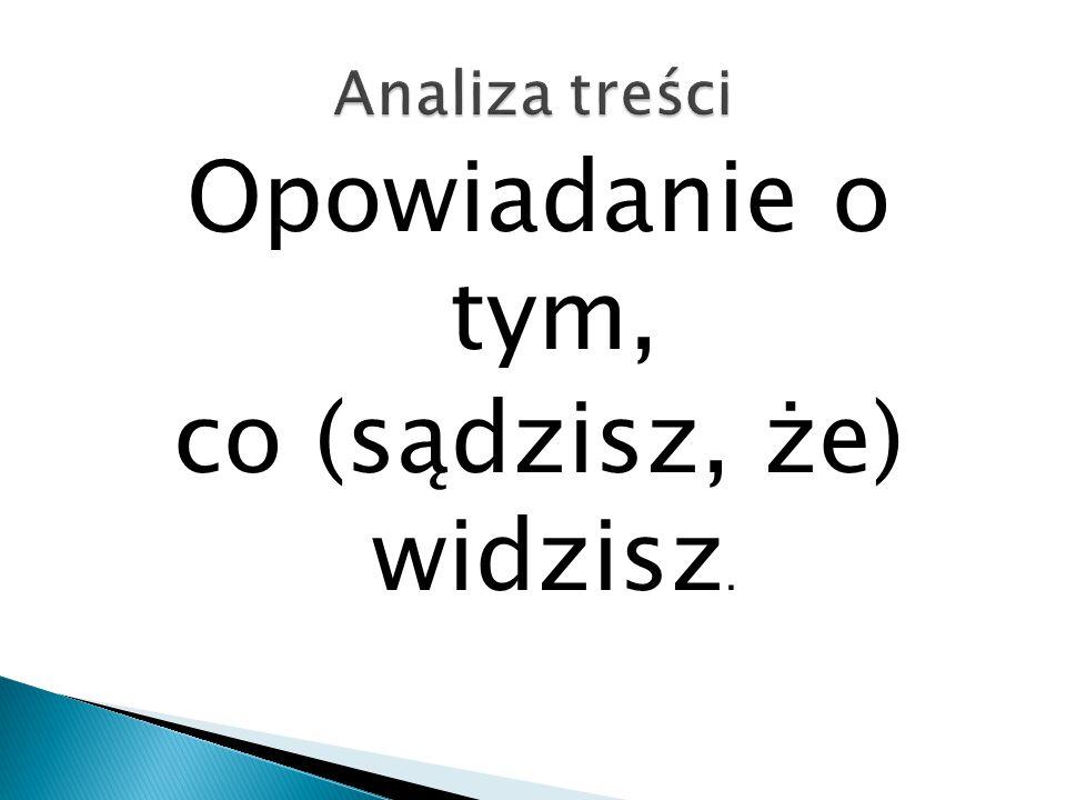 """Analiza dyskursu II Jak proces """"archiwizacji oddziałuje na teksty."""