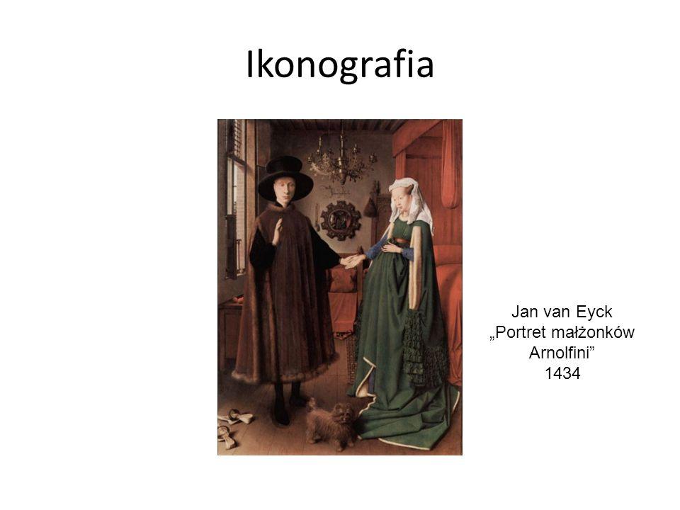 """Jan van Eyck """"Portret małżonków Arnolfini"""" 1434"""