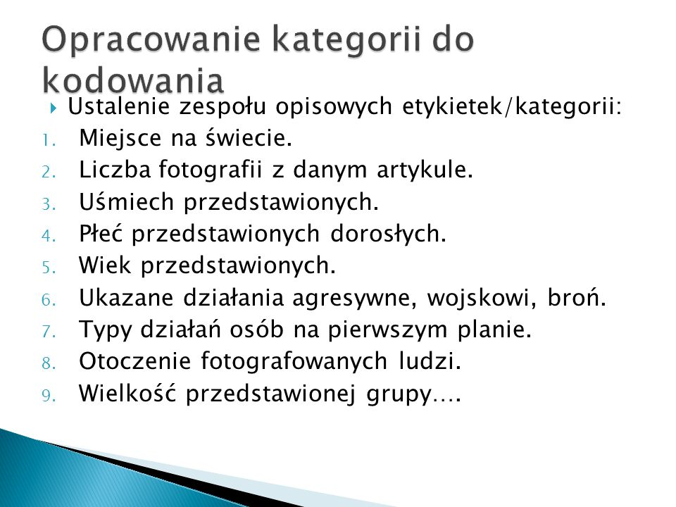 Analiza dyskursu II.