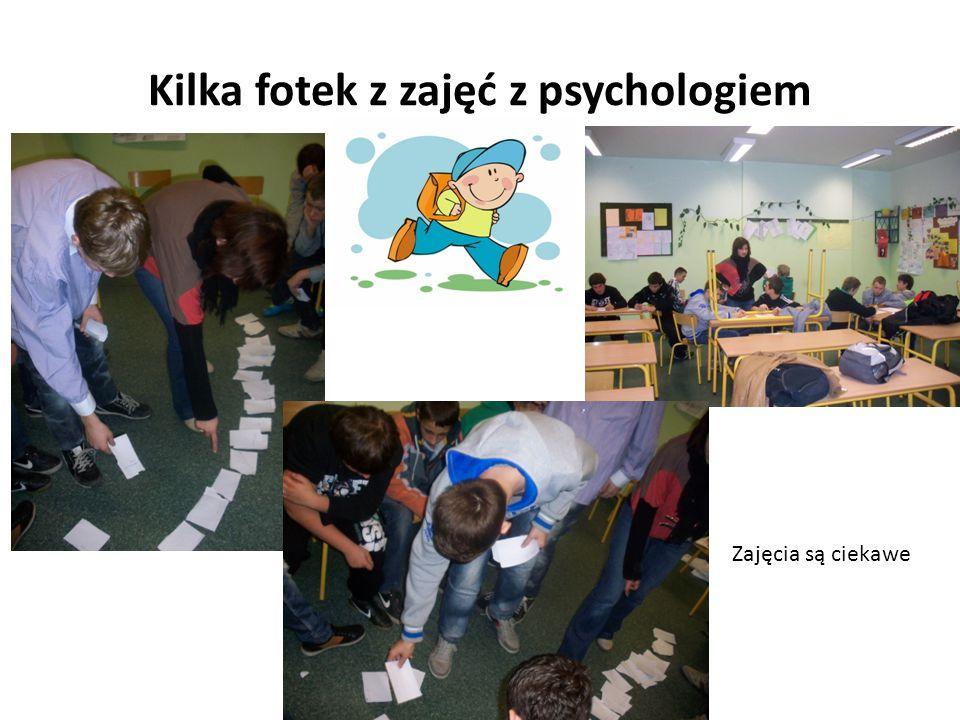 Kilka fotek z zajęć z psychologiem Zajęcia są ciekawe