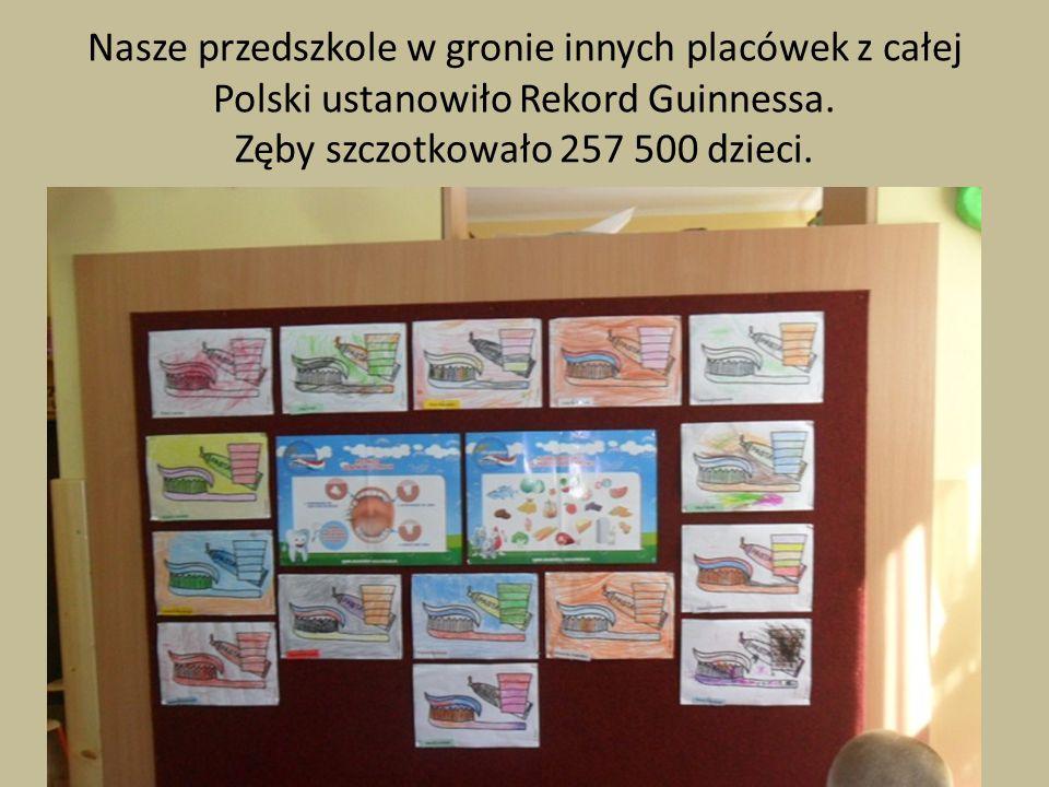 Nasze przedszkole w gronie innych placówek z całej Polski ustanowiło Rekord Guinnessa.