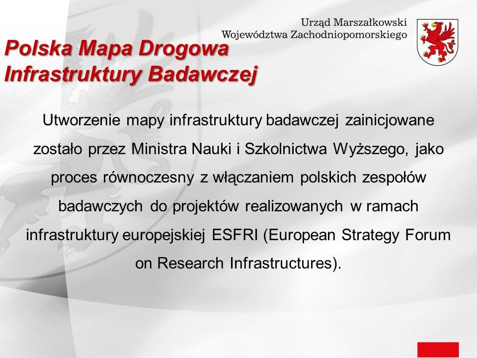 Utworzenie mapy infrastruktury badawczej zainicjowane zostało przez Ministra Nauki i Szkolnictwa Wyższego, jako proces równoczesny z włączaniem polski