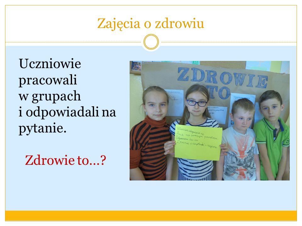 Włączenie rodziców do programu Do realizacji programu zostali włączeni rodzice uczniów klasy II a.