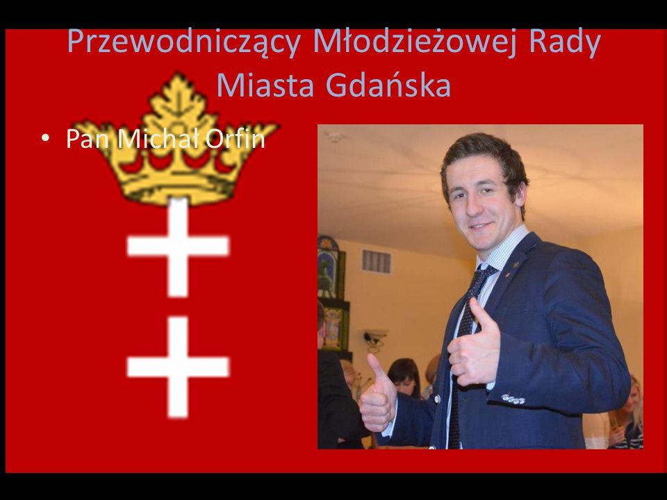 Przewodniczący Młodzieżowej Rady Miasta Gdańska Pan Michał Orfin