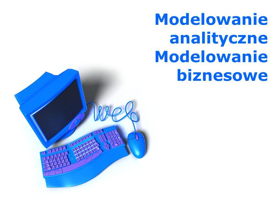 Wprowadzenie… Modelowanie biznesowe (z ang.