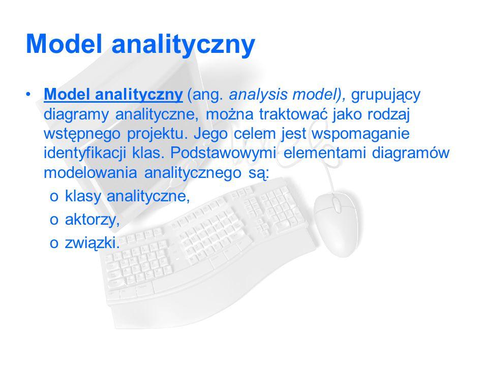 Model analityczny Model analityczny (ang.