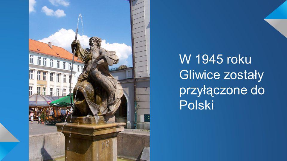 W Gliwicach znajduje się wiele pięknych budynków, rzeźb itp.