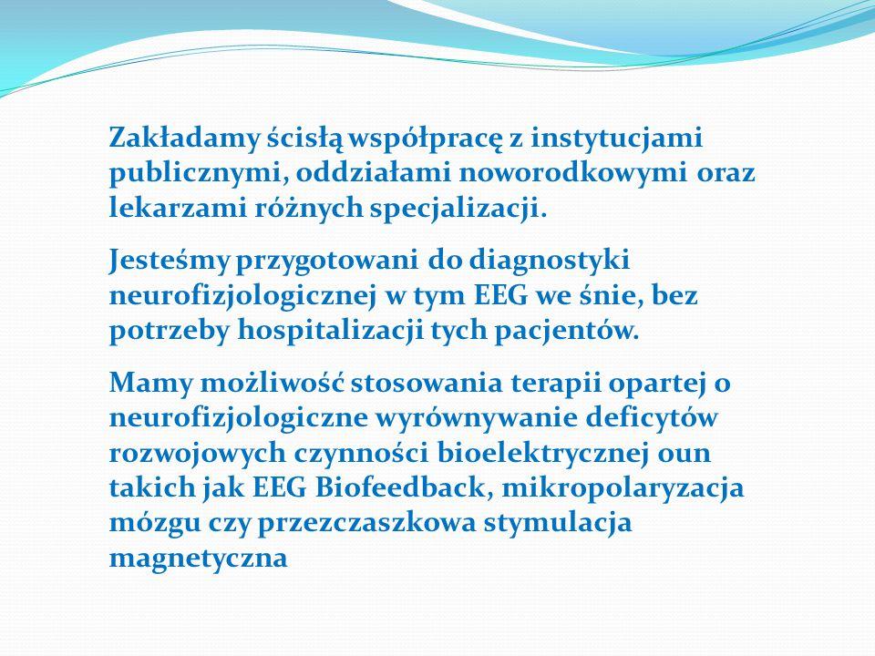 Zakładamy ścisłą współpracę z instytucjami publicznymi, oddziałami noworodkowymi oraz lekarzami różnych specjalizacji. Jesteśmy przygotowani do diagno