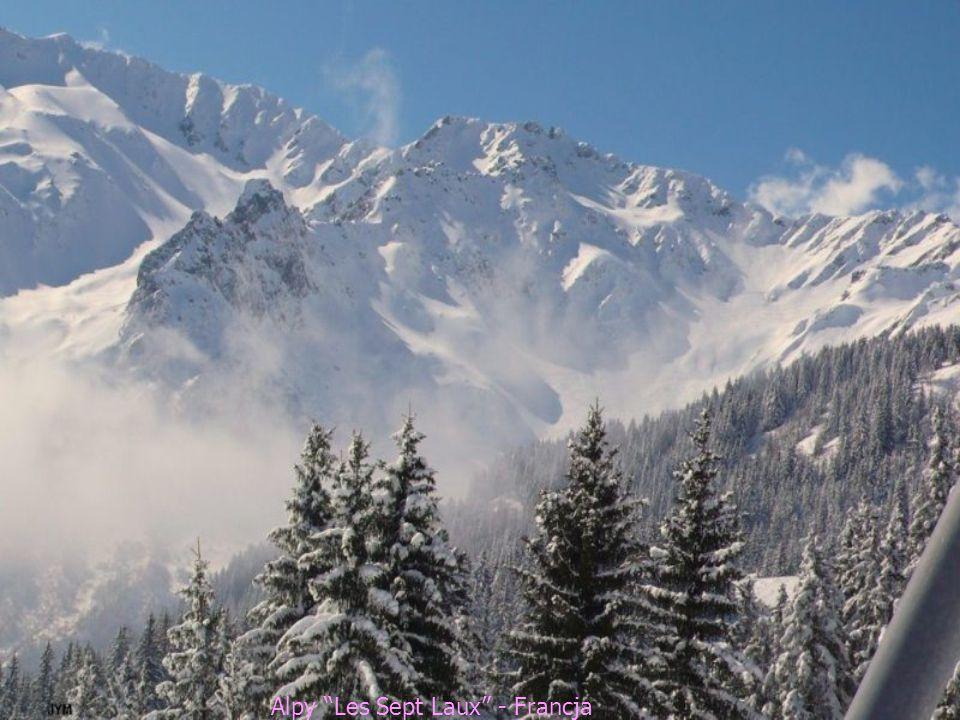 Alpy Les Sept Laux - Francja
